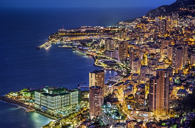 撮影場所1:モナコ公国