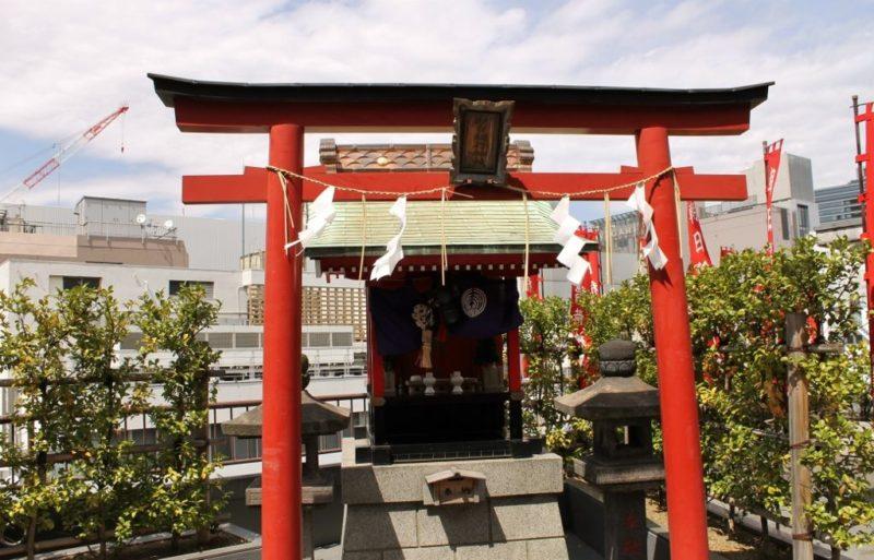 聖地「朝日稲荷神社」