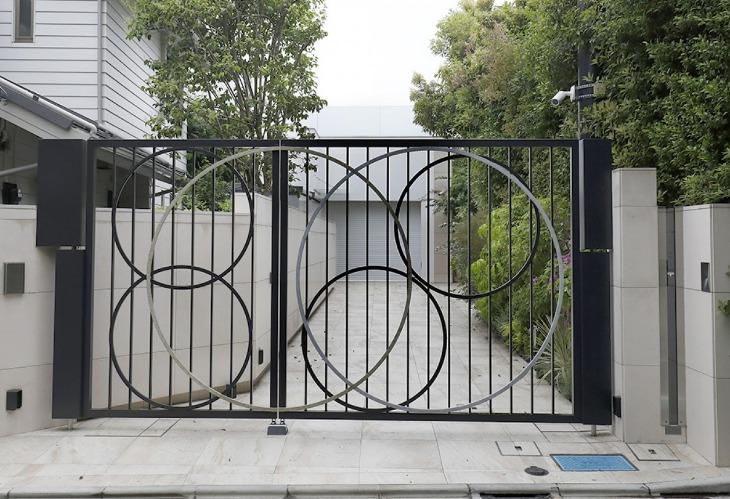 桜井和寿さんの新居豪邸の外観画像
