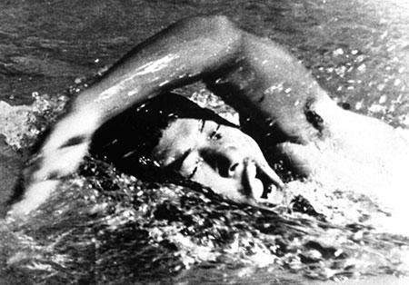 裏オリンピックで活躍した古橋廣之進の「幻の金メダル」