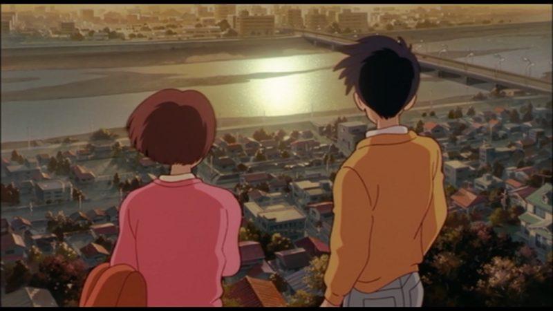 耳をすませばの聖地・ロケ地のいろは坂桜公園