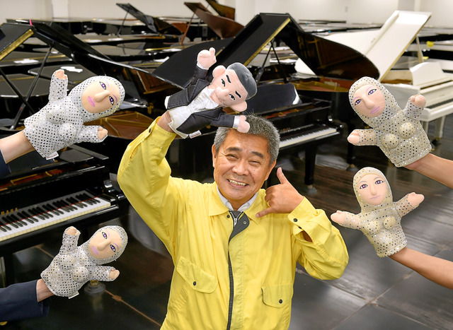 タケモトピアノの社長竹本さん