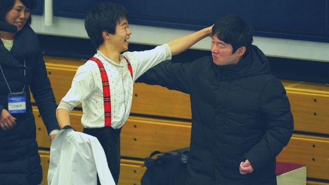 鍵山優真のコーチは父親の鍵山正和!元フィギュア選手時代の実績がすごい!