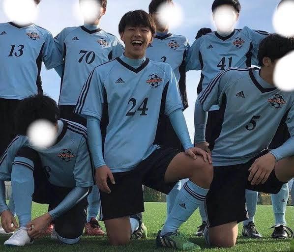 河野純喜はサッカーの選抜選手