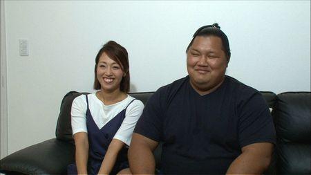 友人がきっかけで出会ったあいさんと松鳳山
