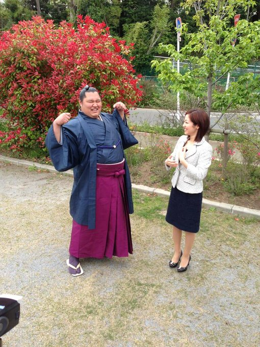 恐妻家という松鳳山の嫁のあいさん