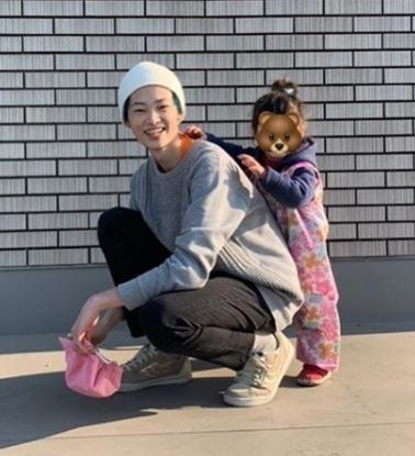 窪塚愛流と妹