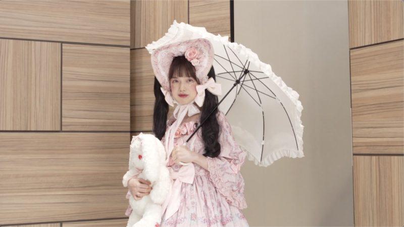 ロリータメイクの弘中アナ