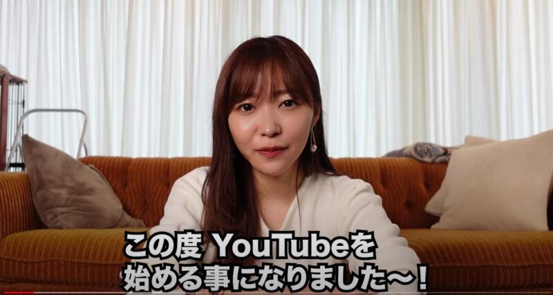 指原莉乃がYouTube「さしはらちゃんねる」を開設